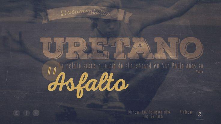Uretano no Asfalto.... documentário inédito em produção, sobre o início do skateboard no início da década de 70 na cidade de São Paulo.... direção Luiz Fernando e Filipi do Canto...produção Grama filmes !