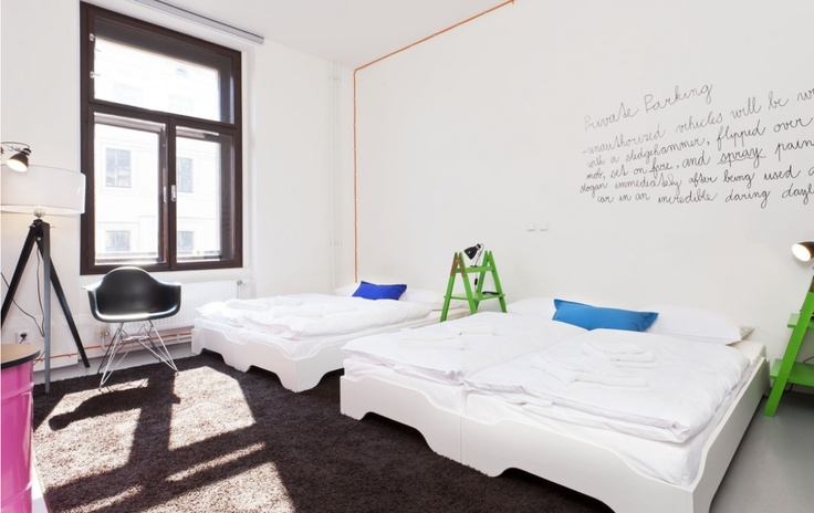 Fusion @ Prague   #hotel #design #hostels http://www.myboutiquehotel.com/fr/boutique-hotels-prague/fusion-hotel.html