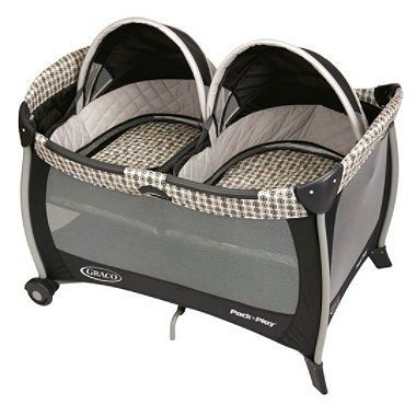 awesome Graco Pack 'n Play Playard with Twins Bassinet - Vance