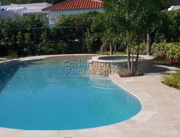 21 best caribbean pool spa for Constructor piscinas
