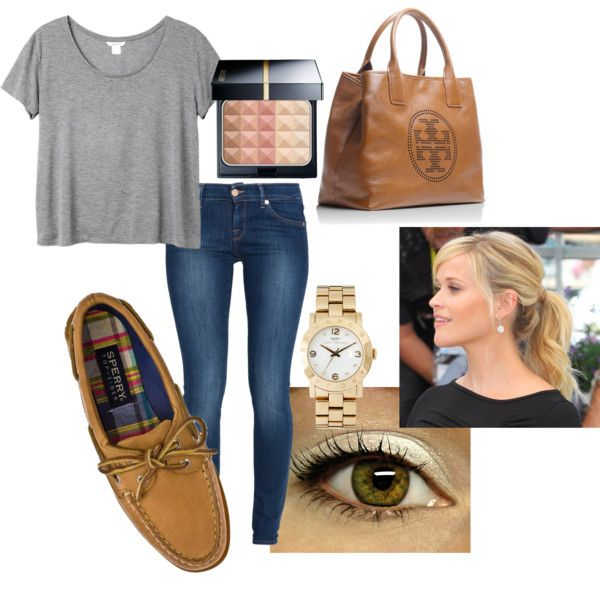 """Casual Day-Out Outfit (Sperrys)"" by equestriangirl123 on Polyvore"