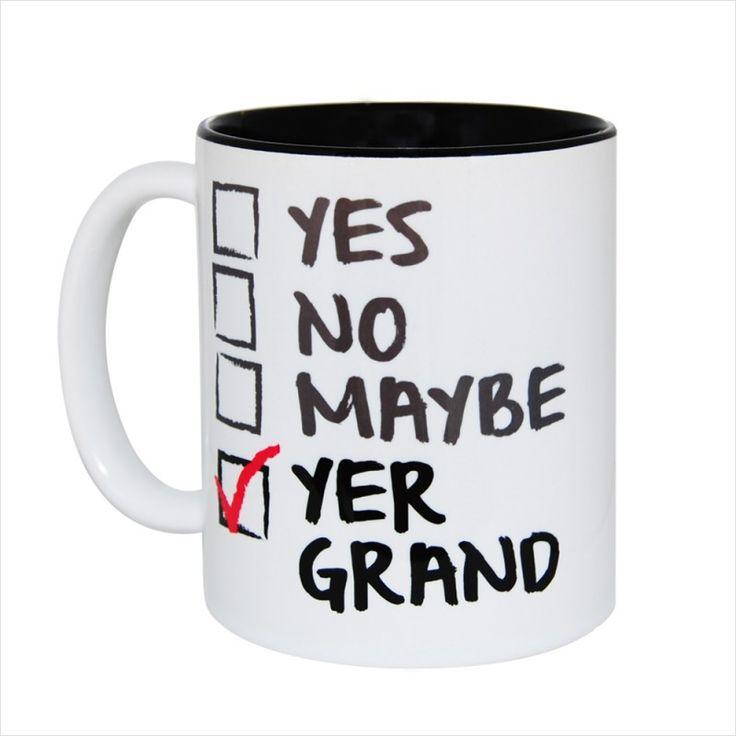 Yer Grand Gift Mug & Tin/Box by HairyBaby.com