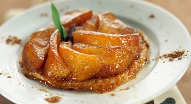 Tarte aux pommes caraméliséeVoir la recette de la Tarte aux pommes caramélisée>>
