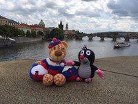 Прага, вид на Карлов мост