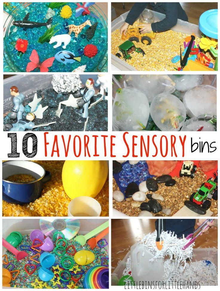 10 favorite sensory bins