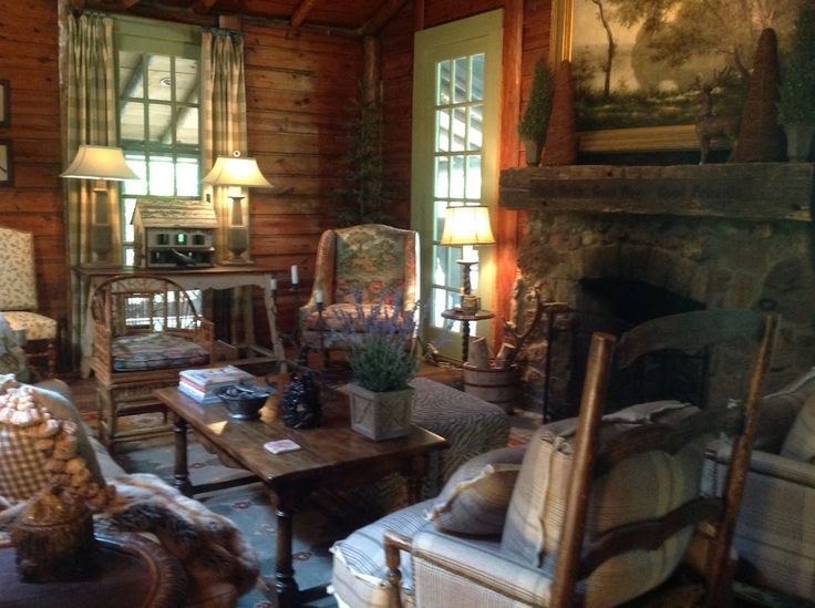 Charles Faudree French Country Decorating: The Roost. Cozy Cabin On Spring Creek By Charles Faudree