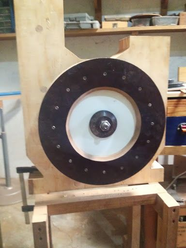 My DIY Bandsaw - 4th Shopmade Woodworking Tool #5: The band wheels and initial success. - by Armand @ LumberJocks.com ~ woodworking community