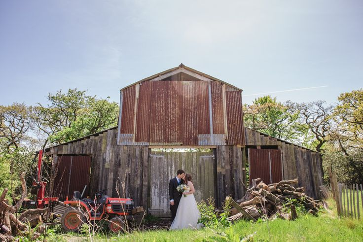 wedding at Nancarrow Farm