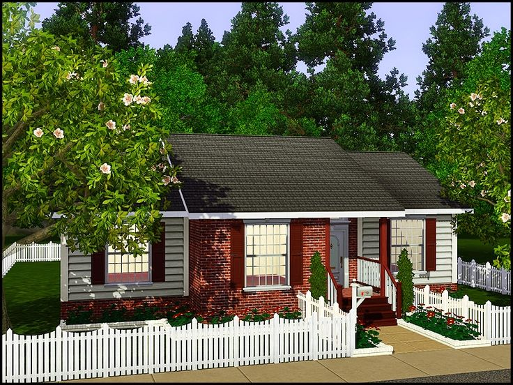 1000 ideas about sims3 house on pinterest sims house for Small starter homes