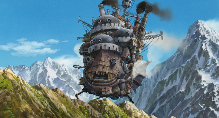 Howl's moving castle: one of the most marvelous stories I ever heard!