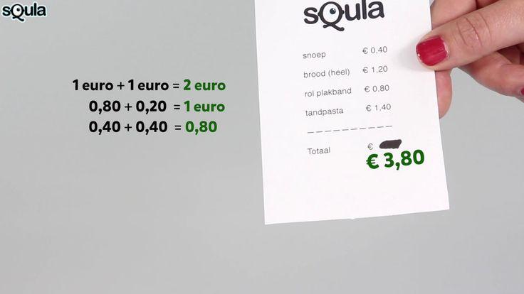 Squla uitlegfilmpje - Rekenen: geld (groep 5)