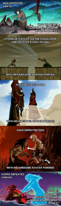 I can't be the only one who didn't understand the Korra Season 2 ending. I miss the Gaang :(