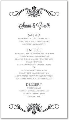 dinner menu template for home - 11 best cronquist house menus images on pinterest
