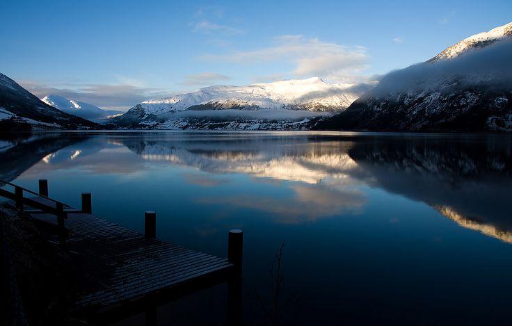 Jølstravatnet Fjord, Jølster area, Norway