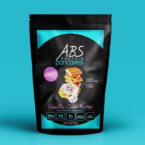 Vanilla Cake Batter Protein Pancake & Waffle Mix-1lb | ABS Protein Pancakes
