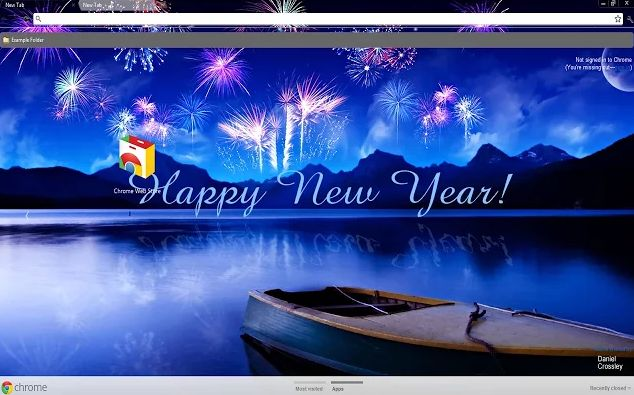 216 best images about chrome themes on pinterest new - Winter theme chrome ...