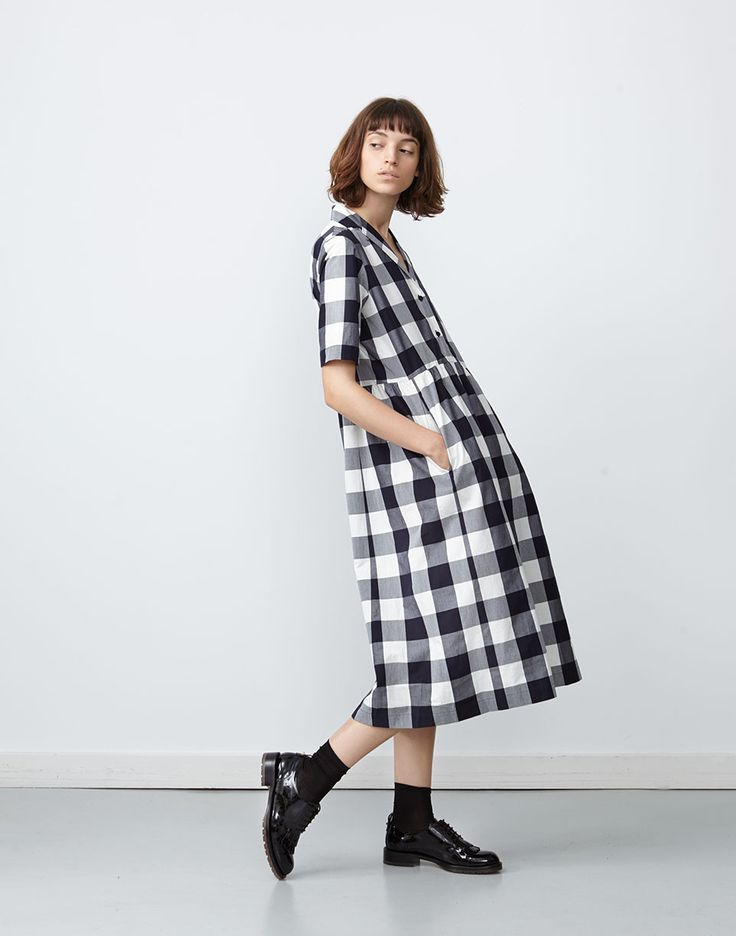 Machida Dress Gingham
