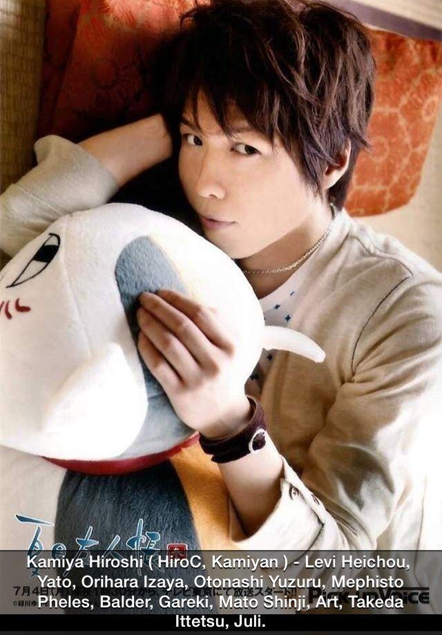 Kamiya Hiroshi (Levi, SnK)