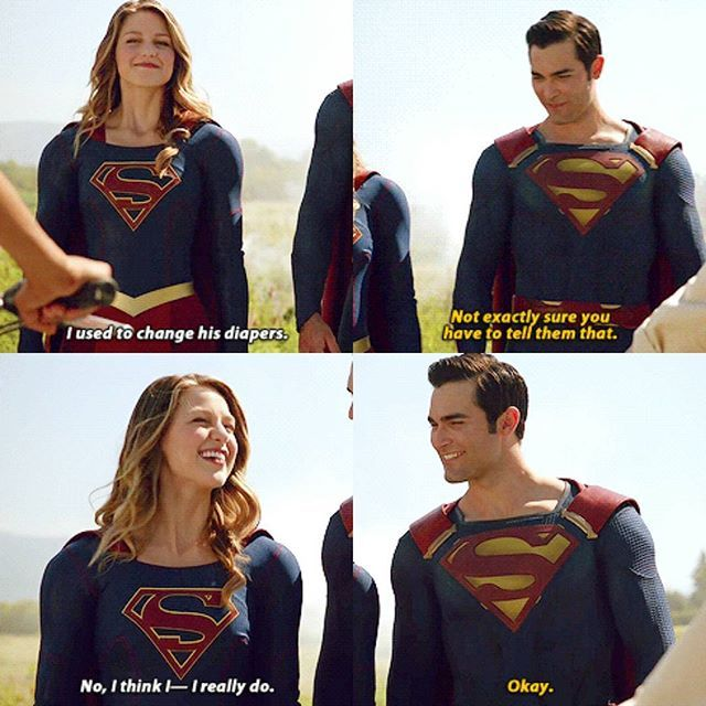 #Supergirl #Superman