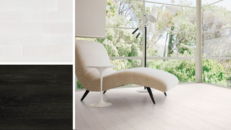Are your color tastes black and white? At Lauzon we offer true white and true black hardwood floors to help you create a bold statement with your perfect stylish décor. Let your true colors shine through! #hardwoodfloor #interiordesign #homedecor #lauzon #artfromnature