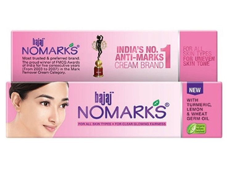 1x Bajaj Nomarks No marks Glowing Cream(All Skin Type, Oily, Dry)Acne Blemishes #Bajaj