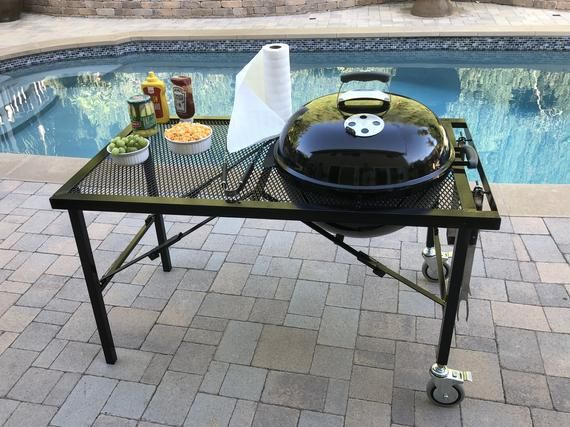 22 Inch Weber Charcoal Grill Table Grill Table Weber Charcoal