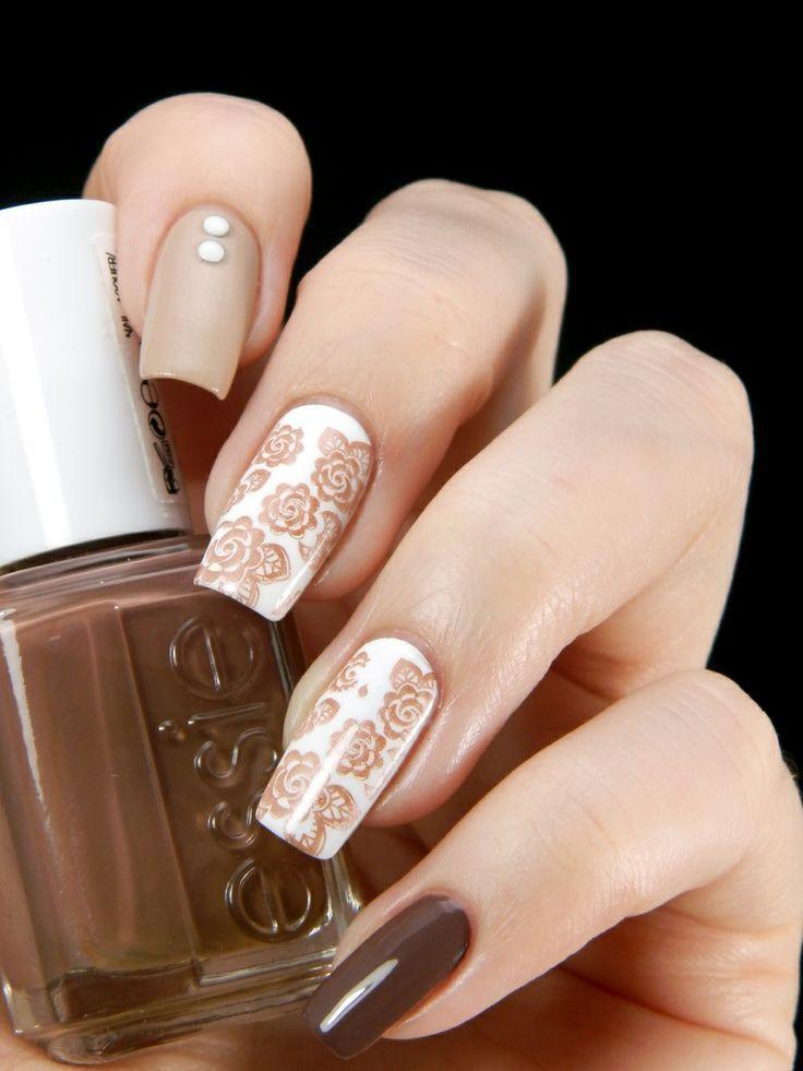 how to make brown nail polish
