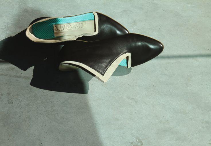 #Black #White #ArtisanalShoes #TriptychNY