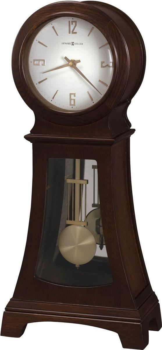Gerhard Mantel Table Clock Chocolate