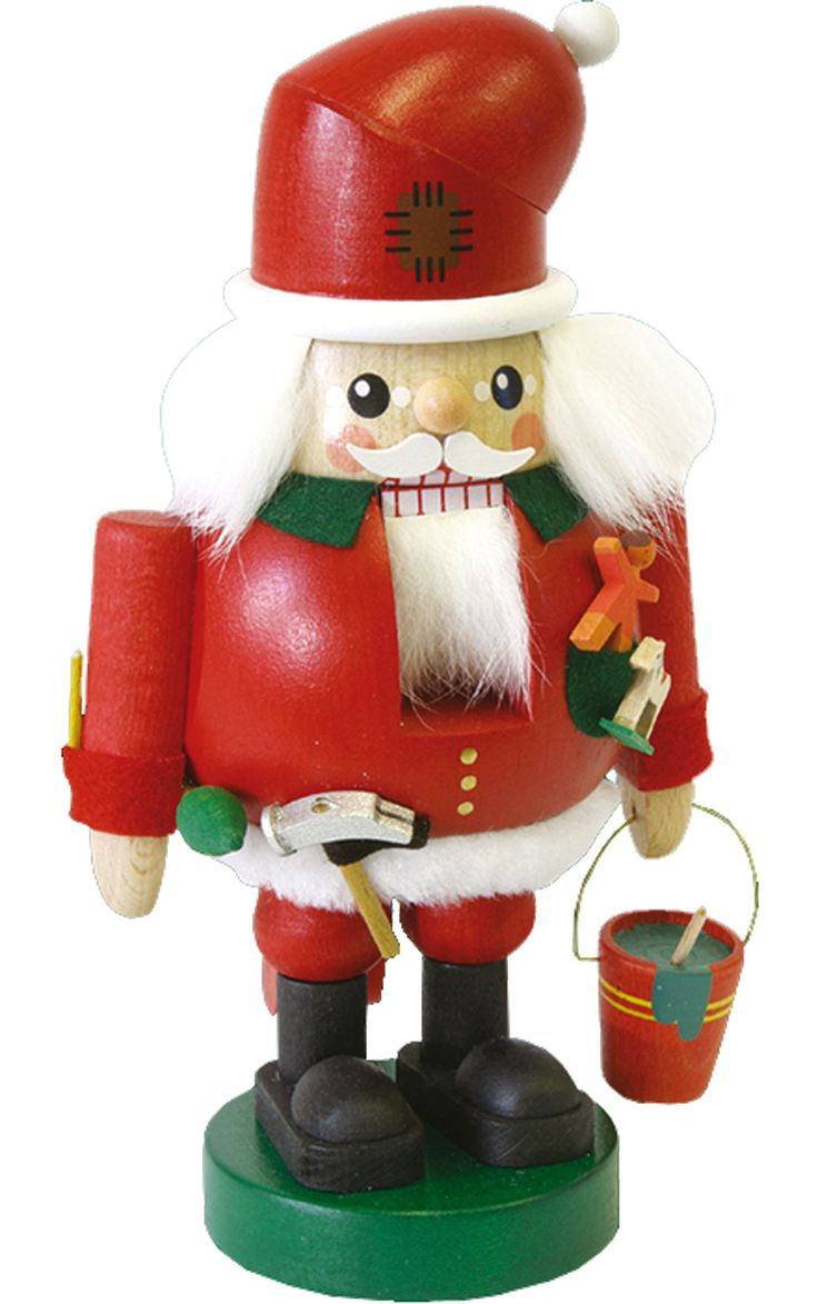 How to make a nutcracker christmas decoration - Richard Glaesser Ready To Build Santa Claus Nutcracker Santa Is All Decked Out And Ready To Craft Some Toys In This Richard Glaesser Ready To Build Santa