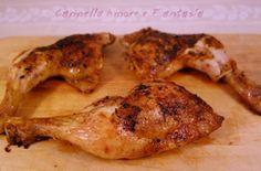 Le cosce di pollo al forno croccanti e saporite sono una ricetta della mia mamma con qualche aggiunta di mio che le rende veramente irresistibili!