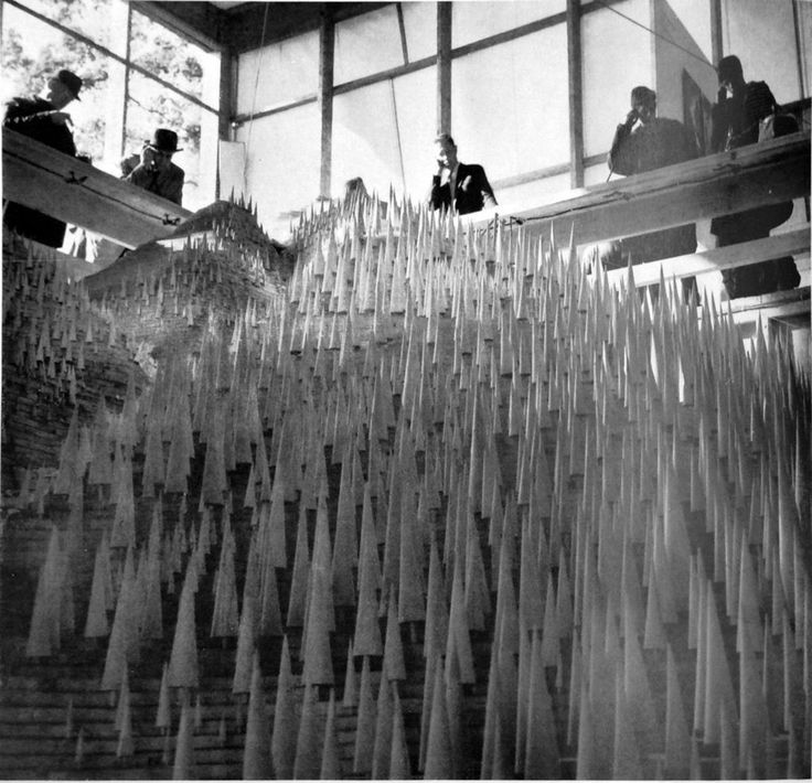 Model, Earth and forest section, Swiss National Exhibition, Lausanne, 1964. From <i>Building an exhibition</i>, Lausanne: Marguerat Library, 1965.