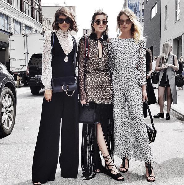 Spotted at NYFW: Talisa Sutton, Carmen Hamilton and Natalie Cantell wear Zimmermann
