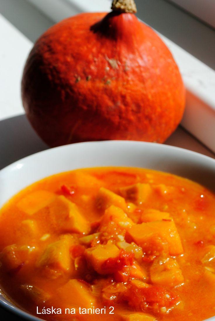 Tekvicový guláš – polievka