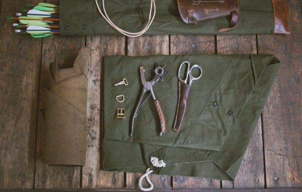 www.Filson.com | Make Your Own Archery Quiver