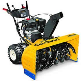 2X 945 SWE 45 in. 420 cc Two-Stage Electric Start Gas Snow Blower with Power Steering >  420cc Cub Cadet OHV 4-Cycle Engine Electric start - just press a button and off you go! Huge engine powers through the toughest winter conditions No mixing of gas and oil Two-Stage System  [... Check more at http://farmgardensuperstore.com/product/2x-945-swe-45-in-420-cc-two-stage-electric-start-gas-snow-blower-with-power-steering/