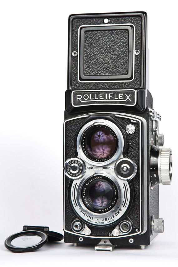 MINT Rolleiflex 3.5B Film Camera Professionally Tested with Zeiss Tessar 75mm Lens on Etsy, 6 463:91 kr