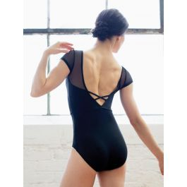 70c7398c44c5 Mesh Cap, Illusion Neckline, Leotards, Cap Sleeves, Tights, Leotard Tops