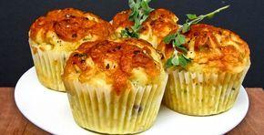 ¿Te apetecen magdalenas saladas de aperitivo? Prueba estas de queso y cebolla. La original utiliza cheddar, pero yo lo he sustituido por manchego. La mejor