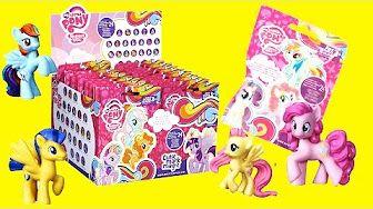 Huevos Sorpresa de My Little Pony Juguetes en Español - YouTube
