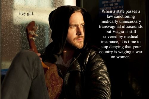Feminist Ryan Gosling?! SWOON. Every Hey Girl is awesome, but this is one of my favs!