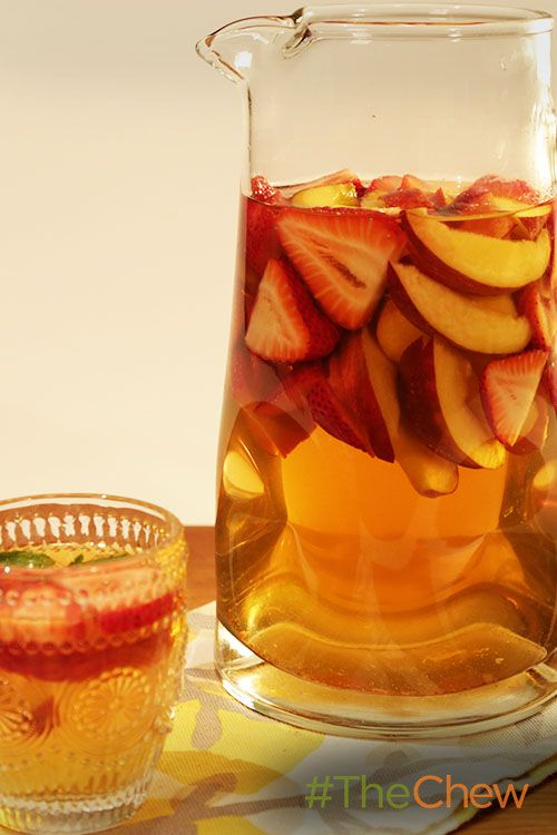 Give your plain sangria a sweet tea twist with this Sweet Tea Sangria!