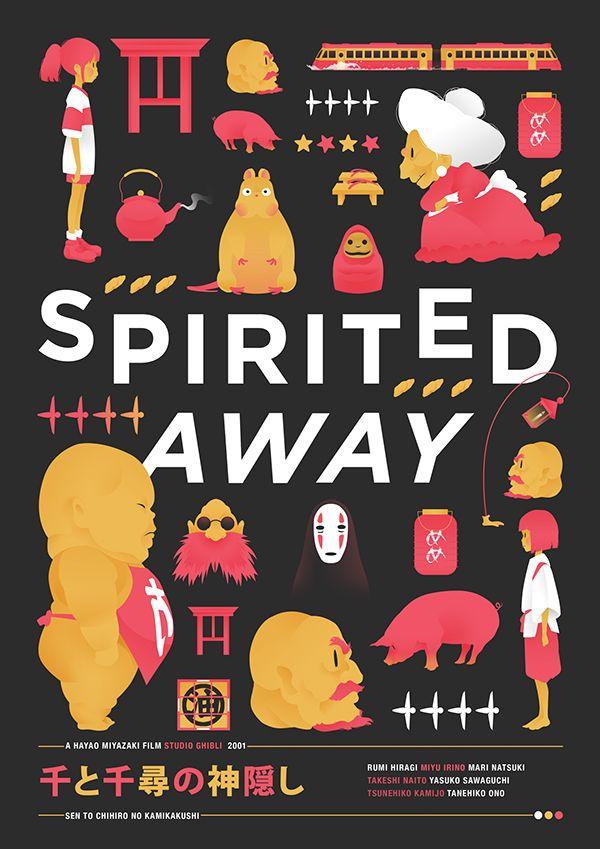 Spirited Away [Poster] on Behance