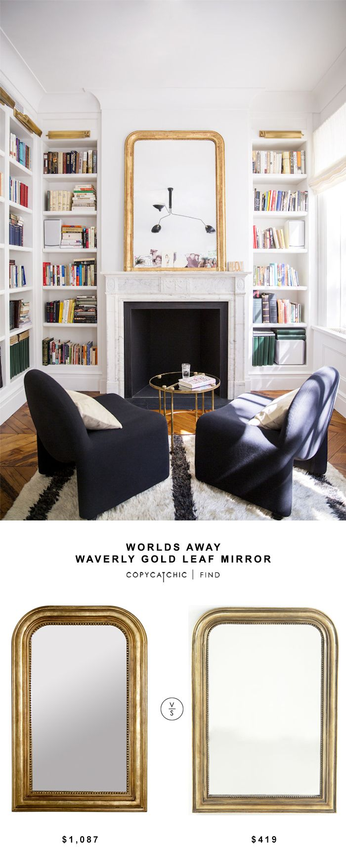 Chairs Angled Towards Fireplace In Winter Out Front Of Bookshelves Summer Mirror House TourAli Caynes Townhouse I Love This Room