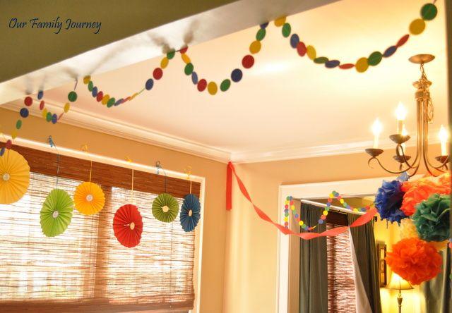 DIY Decorations  Sesame Street Birthday Party  Pinterest