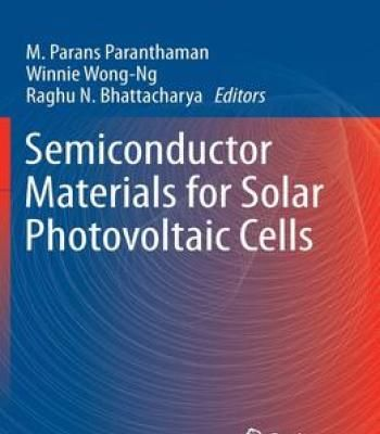 Semiconductor Materials For Solar Photovoltaic Cells PDF