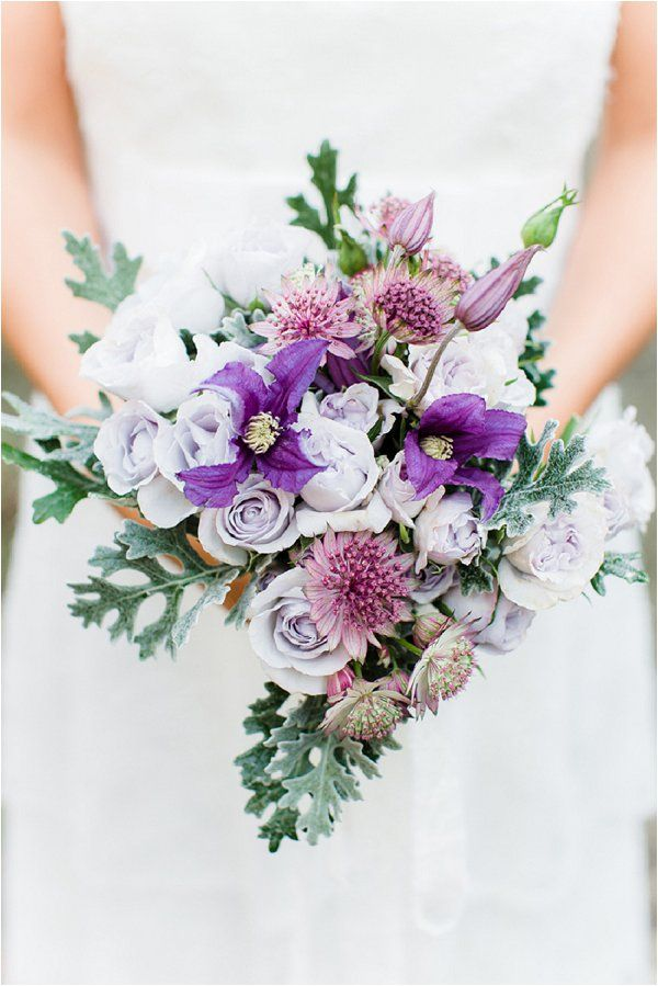 lavender wedding bouquet | Image by Anouschka Rokebrand, see more http://goo.gl/NkEpEm