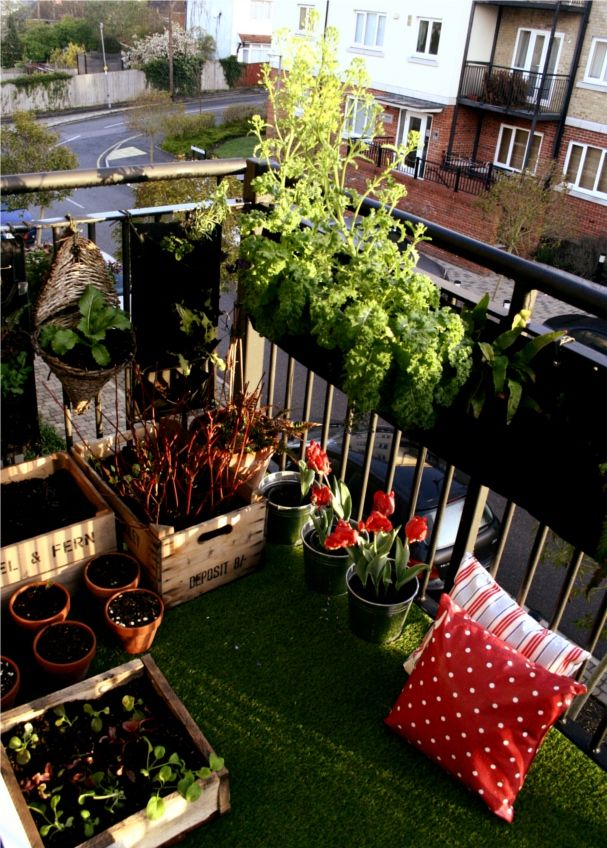 458 best balcony garden images on pinterest balcony for Terrace party decoration ideas