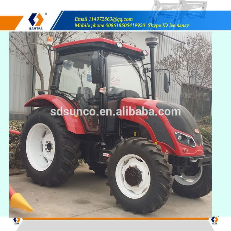 100HP QLN tractor with front end loader