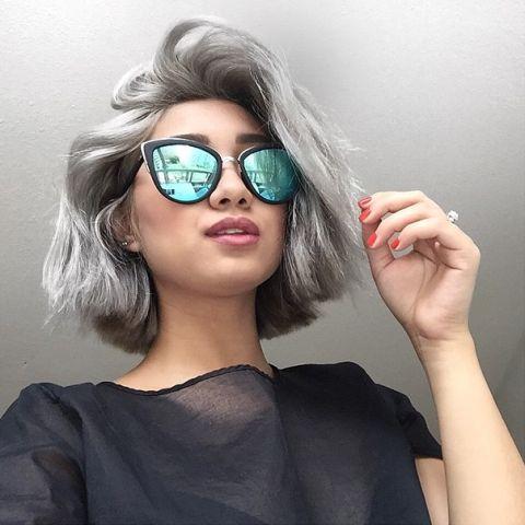 Grey Hair Dye #chicfashion #manrepellant